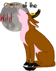 Cow of the Wild T-shirt Contest entry_2 by Brownie-12