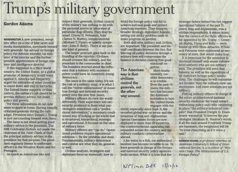 Military Government by jennystokes