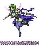 Assassin Sylph Prepares to Attack by phoenixignis