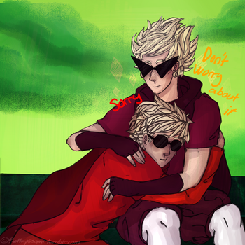 the best panel in homestuck by Tsirpx3