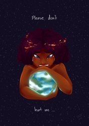 Mother Earth's Sorrow by Tiitcha