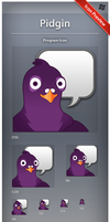 Icon Pidgin by ncrow