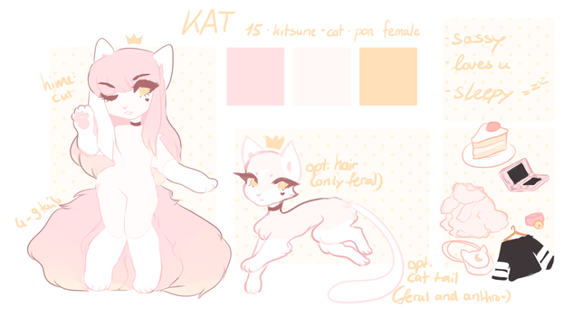 Kat Reference 2017 [redesign] by royaIin