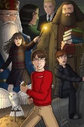 Harry Potter Montage Book 1 by JericaWinters