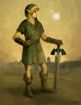 Hero of Hyrule by Photia
