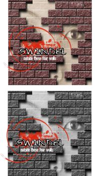 Swindel CD cover by christianblizzard