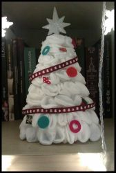 The Little Xmas Cotton Tree by Maelamin