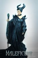 Maleficent by Canvasyne
