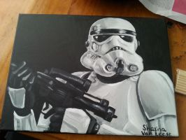 Star Wars: Storm Trooper by ShantyThePenguin