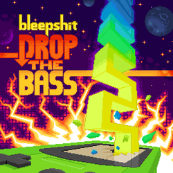 Bleepshit - Drop The Bass cover art by furrtek