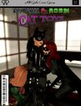 Batwoman and Robin: Cat Toys by EthereaS