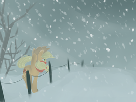Snowing by Urin-MP