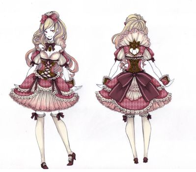 Hime Lolita Dress by Cowslip