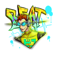 Beat (Jet set radio ) by cross-the-swirl
