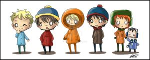 South park chibis by jinyjin