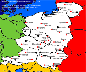 Cities of Central Europe by Nederbird