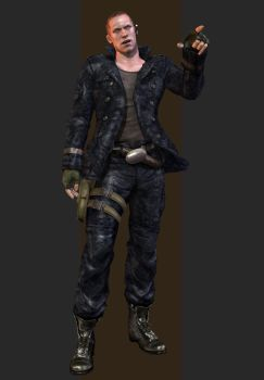 XPS - RE6 - Jake Muller Edonia Outfit by henryque999