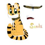 Thunder The Tiger by cjc728