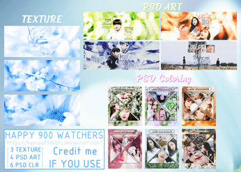 [ SHARE TEXTURE, PSDS ] HAPPY 900 WATCHERS by hyesoo0304bts