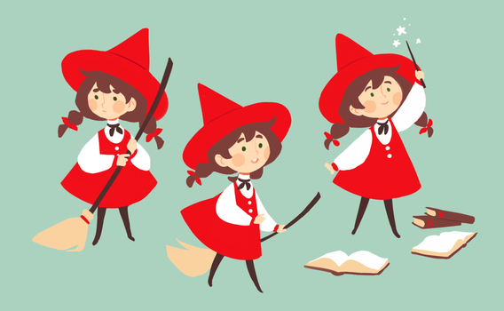 little red witch by starpotion