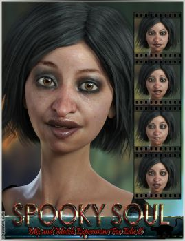 Spooky Soul Mix and Match Expressions for Edie 8 a by emmaalvarez