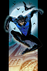 New 52 Nightwing recolor by rxlthunder