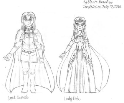 RS-The Nemesisium's leaders (Prototypes by RoseJewel21