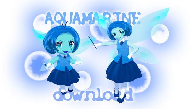 Aquamarine from Steven Universe ( download dl ) by HoshichoM