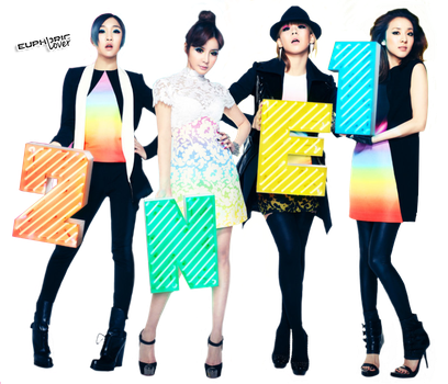 2NE1 PNG by euphoriclover