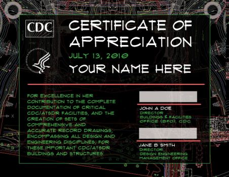 CDC Certificate by DCBSupafly