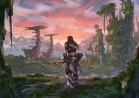 Horizon Zero Dawn by Drawslave