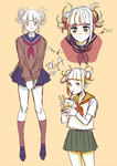 Toga Stress Doodles by enzouke