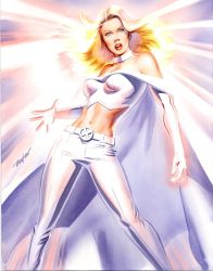 Mike Mayhew Emma Frost Commission by mikemayhew