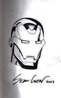 Iron Man by Sean Chen by kevinssketches