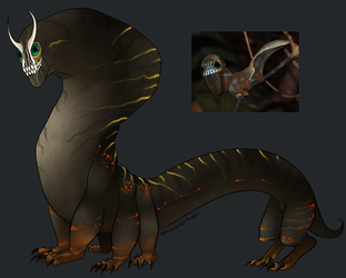 Phyllodes Imperialis monster by Vetisx