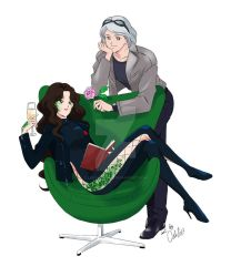 Quicksilver and Snake by Lady-Timariel