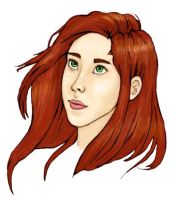 Young Lily Evans by VanishingShmink