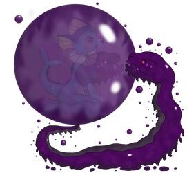 Trapped Within In The Serpents Bubble! by Kinipharian