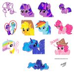 CRAYON PONIES by Mixermike622