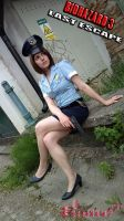 Jill Valentine RE3 Police officer cosplay III by Rejiclad