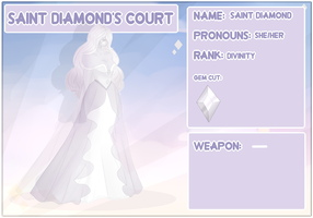 -:Saint Diamond's Court:- Saint Diamond by Cristal-Tears