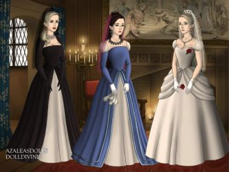 The Brides Of Haunted Mansion by endergirl105