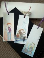Harry Potter bookmarks by Feliks-Grell