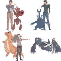 Elite Four Friends Commission by AutobotTesla