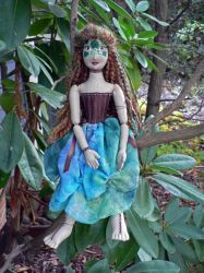 Dryad Doll by magpie-poet