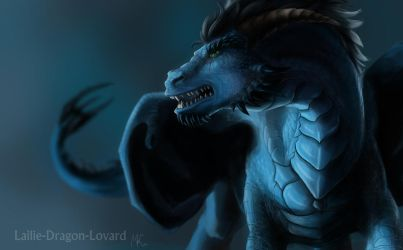 Teo in dragon form by Lailie-Dragon-Lovard