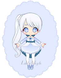 Weiss outfit redesign by LalitaAdopts