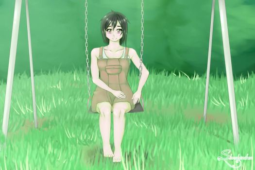 Summer Swing [Request] by Silverleinchen