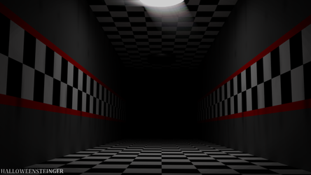 (FNAF 1) Halway Test by HalloweenSteinger