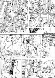 red light district page 01 Ink by donnyhadiwidjaja